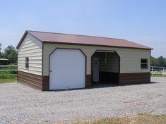 steel houses garages