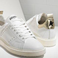 d8c6655b7c7 Golden Goose Damen Starter Sneakers In Calf Leather Golden Goose Damen -  GGDB Schuhe Sale