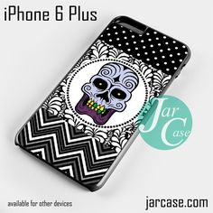 Floral Purple Jaw Skull Phone case for iPhone 6 Plus and other iPhone devices