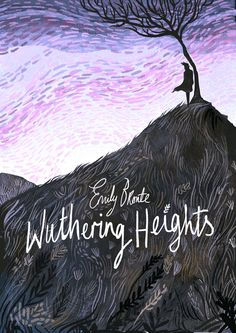 Wuthering Heights by Emily Bronte – book cover desiign by Karl James Mountford – Best Books Book Cover Art, Book Cover Design, Book Design, Book Art, Cover Books, Emily Bronte, Wuthering Heights, Beautiful Book Covers, Children's Book Illustration