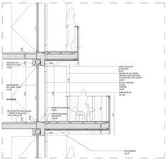 Gallery of Housing operation Île Saint-Denis / Périphériques Architectes - 30 Texture Architecture, Roof Architecture, Victorian Architecture, Architecture Details, Curtain Wall Detail, Modern Balcony, Construction Drawings, Saint Denis, Roof Detail