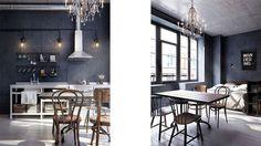 Un mini piso tipo loft de estilo industrial | Canela y Naranja