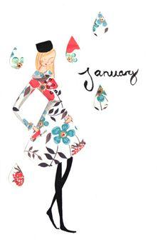 {January} by Emma Block - lovely!