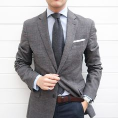 I need more ties Blazer Outfits Men, Stylish Mens Outfits, Gents Fashion, Best Mens Fashion, Business Casual Men, Men Casual, Blue Suit Men, Men Style Tips, Well Dressed Men