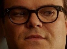 ce648f660f23 Jack Black wears Oliver Peoples Afton RX eyeglasses in Goosebumps.