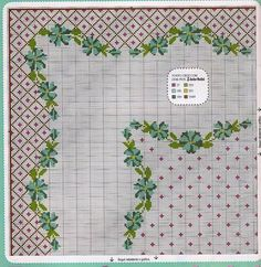 Tablecloth cross stitch