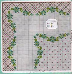 Tablecloth cross stitch