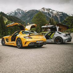 いいね!196千件、コメント407件 ― Mercedes-Benzさん(@mercedesbenz)のInstagramアカウント: 「Summer life hack. 🌟 Photo shot by @kenozache. . #MercedesBenz #MercedesAMG #SLSAMG #SLS #Gullwing…」