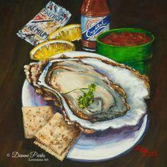 'Oyster & Crystal'- louisiana raw