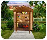 Kinying plastic diy garden sheds Outdoor Garden Sheds, Outdoor Greenhouse, Outdoor Storage Sheds, Large Cabinets, Storage Cabinets, Plastic Sheds, Large Sheds, Plastic Drawers, Diy Shed