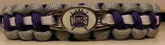 Sacramento Kings Paracord Bracelet  Free by ArmCandyDesignsTN, $15.00