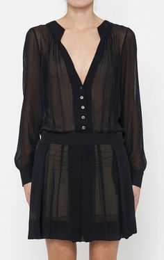 Derek Lam Black Dress