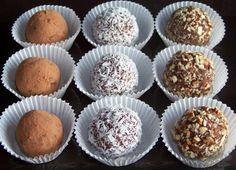 Low Carb Almond Fudge Truffles | Low Carb Yum