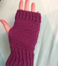 These pretty and cute fingerless gloves will keep your hands warm, and look good while theyre doing it. I hand knit them using a lovely shade of purple. To have a look at them, here's the link: https://www.etsy.com/uk/listing/220667407/purple-gloves-purple-mittens-purple-knit