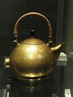 Peter Behrens  File:Semispherical electric kettle, designed by Peter Behrens, 1908, Berlin - Royal Ontario Museum - DSC09522.JPG