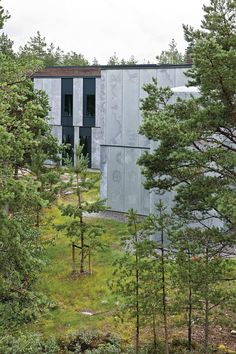The World's Most Humane Prison - Danish Prison, Landscape Design, Facade, Cabin, Architecture, House Styles, World, Plants, Image