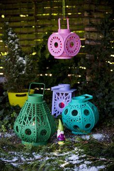 i want i want. RICE lanterns
