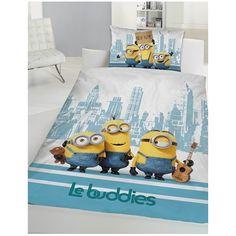 Minions Bettwäsche 160x210 Für alle die die Minons Lieben