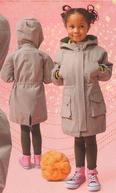 Baby Clothes Sizes, Diy Fashion, Kids Outfits, Rain Jacket, Fur Coat, Windbreaker, Techno, Winter Jackets, Sewing
