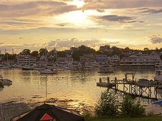 Boothbay Harbor, Maine less than a month before I'm there for the summer:) happiness