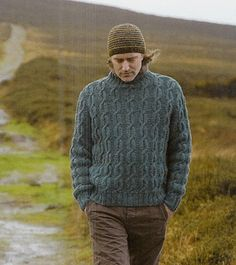 Cable Sweater pattern by Martin Storey
