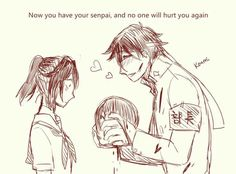 A two-panel comic of my fav yandere simulator couple. made with gimp characters belong to yandere dev A Love Confession From Ayano Yendere Simulator, Yandere Simulator Memes, Male Yandere, Yandere Anime, Ayano X Budo, Love Confessions, Mini Comic, Geek Games, Old Video
