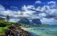 Lord Howe Island.Australia. Landscape Photos, Wonderful Places, It's Wonderful, Beautiful Places, Airlie Beach, Space Place, World Heritage Sites, Australia Tourism, State Parks