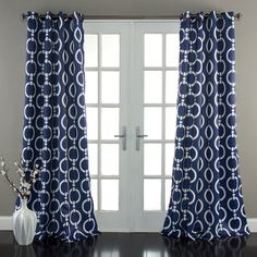 Mercer41 Ricco Curtain Panel Pair & Reviews | Wayfair