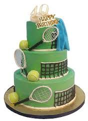 Image result for tennis cake