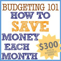 just Sweet and Simple: Budgeting 101: How We Save Money