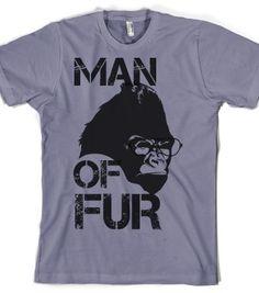 Check out my new design on @skreened @cherrytwisssavy MAN OF FUR (COOL #GORILLA) $22.09 / $16.09 #Flash #Sale #thanks #buyers