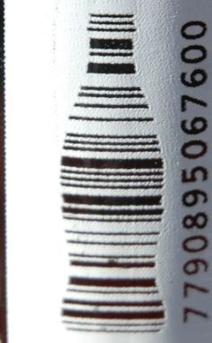 Coca~cola barcode cool but could be considered copyright infringement PD