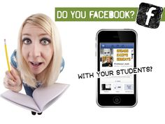 Learn a little more about Facebook and its possible use in education.