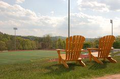 The ideal fan seats. #alvernia #turffield #athletics