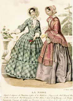 Fashion Plates 1840- 1849…