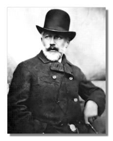 Piotr Ilyitch Tchaikovsky (1840 - 1893)  was born in Kamsko-Votkinsk, in the western Ural Vyatka province of Russia. He studied law in St. Petersburg and took music classes at the St. Petersburg Conservatory. There his teachers included the Russian composer and pianist Anton Rubinstein, from whom Tchaikovsky subsequently took advanced instruction in orchestration.