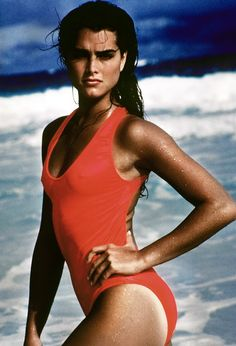 saved 50 Vintage Photos to Celebrate Brooke Shields' Birthday A look back at the actress/model's most memorable moments. High Cut Bikini, Bikini Set, Brooke Shields Young, Actrices Sexy, Provocateur, Trendy Swimwear, One Piece Swimwear, Model Photos, Role Models