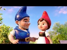 """Sherlock Gnomes - """"Greatest Team"""" added to Trailer Planet on February 2018 William Shakespeare, Picture Movie, Television Program, Paramount Pictures, Great Team, Consumer Products, Jelsa, Movie Trailers, Gnomes"""