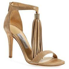 """Jimmy Choo 'Viola' Ankle Strap Sandal, 4"""" heel"""