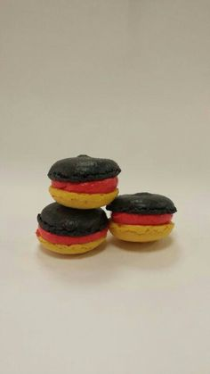 """Germany went for the Football World Championship and we created a """"Schland Macaron"""""""
