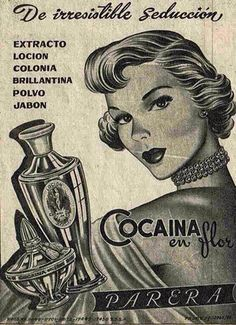 Advertising board in Spanish of Cocaina circa Visit my gallery and enjoy more than 600 amazing crazy items! Comics Vintage, Vintage Ads, Vintage Images, Vintage Posters, Old Advertisements, Advertising, Makeup Advertisement, Photo Vintage, Netflix