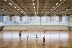 Salle Omnisports - Plabennec 29 - Bohuon Bertic Architectes
