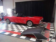 Ford Mustang Convertible Hardtop   eBay 1965 Mustang Convertible, Garage Floor Tiles, Flooring, Cars, Ebay, Autos, Wood Flooring, Car, Automobile