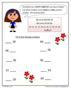 An Ordering Numbers Worksheet Fun Classroom Activities, Preschool Math, Math Classroom, Teaching Math, Teaching Ideas, Core Learning, Learning Resources, Kindergarten Centers, Math Centers