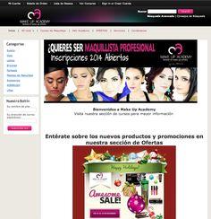 Empresa: SM Corporación, S.A.  Role: Academia de Makeup.  Web: www.makeupacademygua.com