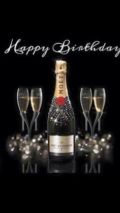 Geniet ervan Happy Birthday Drinks, Happy Birthday Fireworks, Happy Birthday Greetings Friends, Happy Birthday Black, Happy Birthday Wishes Photos, Birthday Wishes Flowers, Happy Birthday Frame, Happy Late Birthday, Happy Birthday Video
