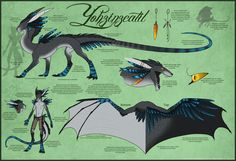 DeviantArt: More Like Commission - Trauron Ref Sheet by Skysealer