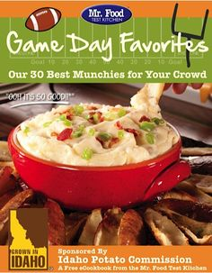 FREE eCookbook: 30 Game Day Recipes for Munchies! ~ at TheFrugalGirls.com #appetizer #recipes