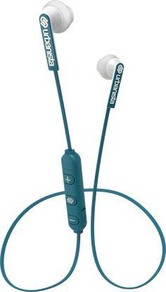Bluetooth-hörlurar som är idealiska för att användas varje dag. Dess unika konstruktion med mjuka silikonproppar och platta kabel mellan snäckorna ger dig en ergonomiskt och trasselfri passform. Ljudbilden är optimerad för att passa för såväl musik som för samtal, så du får ett bra resultat oavsett om du springer mellan möten, slappnar av på flyget eller &...