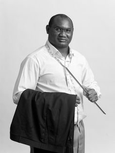 Issa Traore, who has been a master tailor for more than 20 years, specialises in trouser making for Meyer & Mortimer.